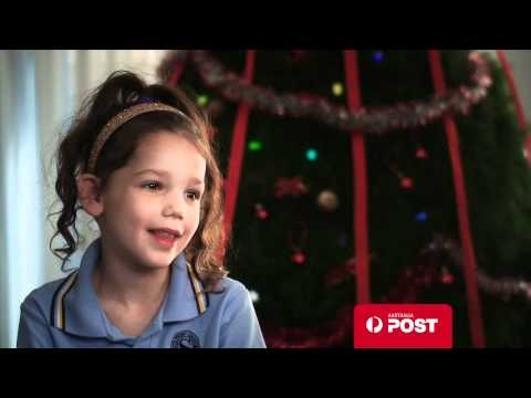 """Watch these cute kids and discover some of their funny Santa requests... """"A little pretend hair dryer, some lipstick and a bike""""  http://auspo.st/Y2XZF4"""