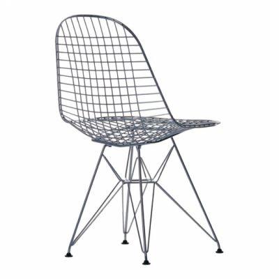 Stol Wire Chair DKR i förkromat stål....