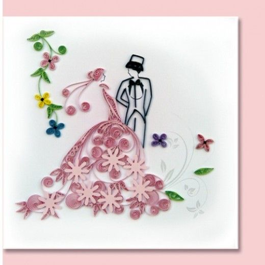 287 best quilling  wedding images on pinterest