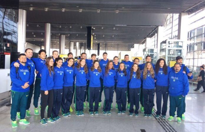 Seleção Brasileira de natação e saltos ornamentais embarca para os Jogos Sul-Americanos da Juventude – FrancisSwim