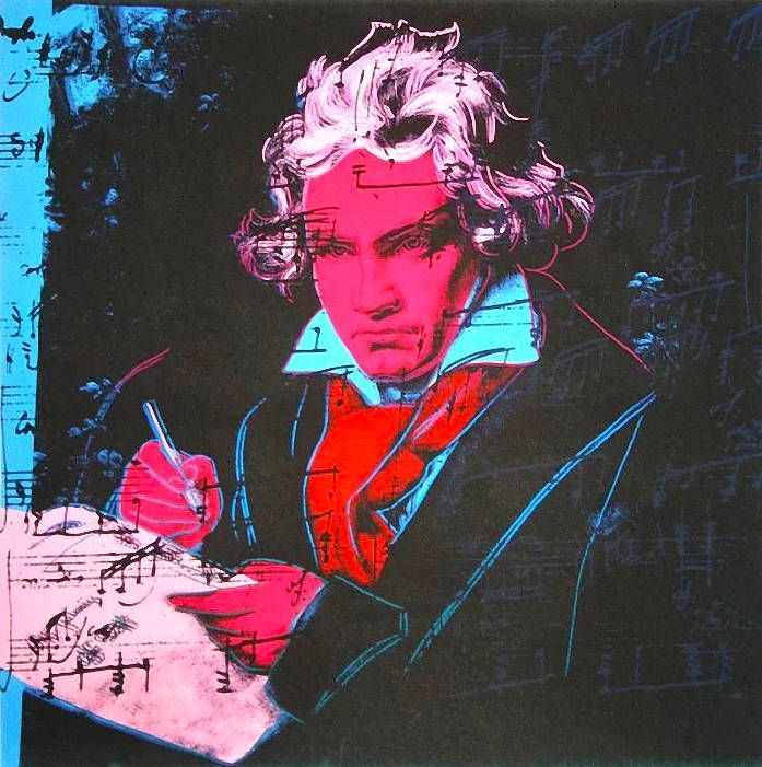 Beethoven FS II.391 by ANDY WARHOL