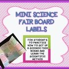 In order to learn the steps of the Scientific Method and how to set up a Science Fair board display – I had the students do an in class experiment....