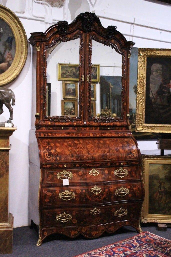 Trumeau olandese in legno di noce 39 700 il balon - Di mauro mobili ...
