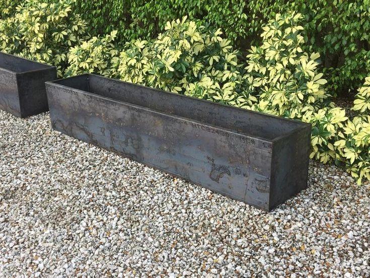 Corten Steel DIY Rectangular Raised Planter Bed. Ships in