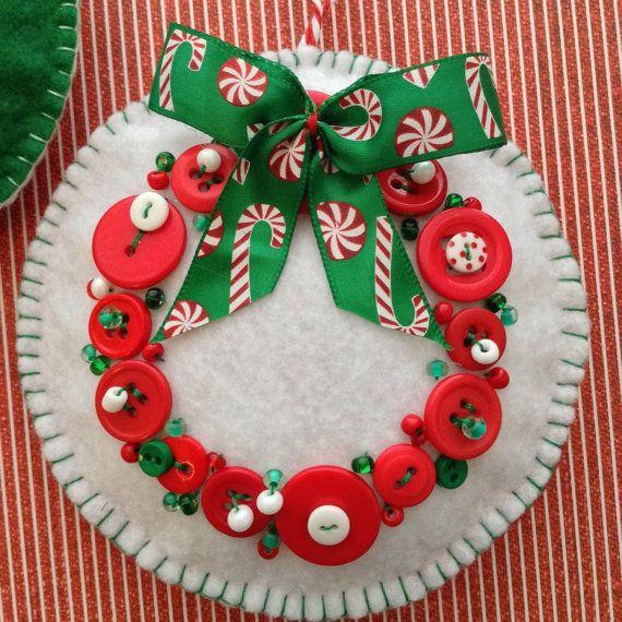 Christmas Ornaments / Whimsical Felt Ornaments / by CraftsbyBeba