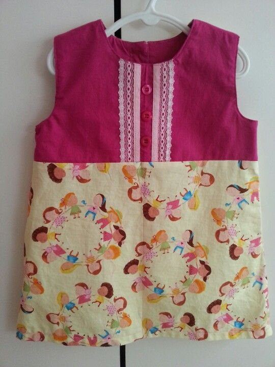 Debbies birthday dress pattern by sewpony in size 3