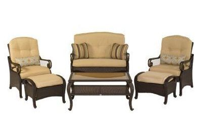 Hampton Bay Replacement Cushions | Kampar Cushions | Belle Isle | Sanapelo