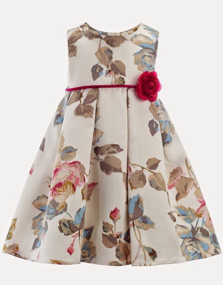 vestidos de flores para niñas - Buscar con Google