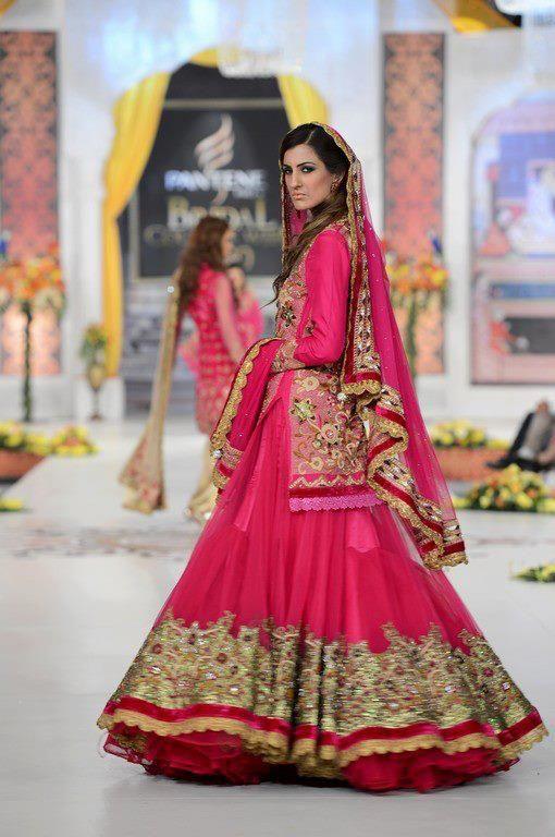 real weddings traditional punjabi bridal dress photo