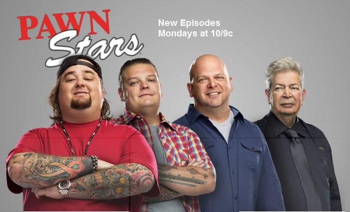 LOVE Pawn Stars - the best show of its genre.