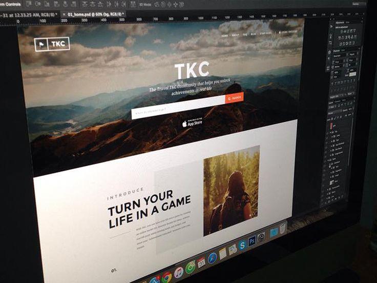 TKC - Homepage WIP by C-Knightz Art