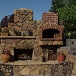 Victorian Outdoor Kitchen