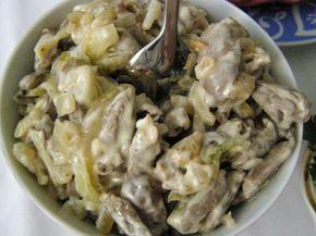 Аппетитный, пикантный и невероятно нежный грибной салат с куриными сердечками – мой фаворит! Вкус яблока и нежное мясо куриных сердечек, сочетаясь, «звучат» в этом салате великолепно. Разнообразие во…