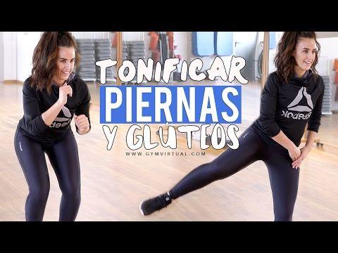 Entrenamiento para tonificar piernas y glúteos - YouTube
