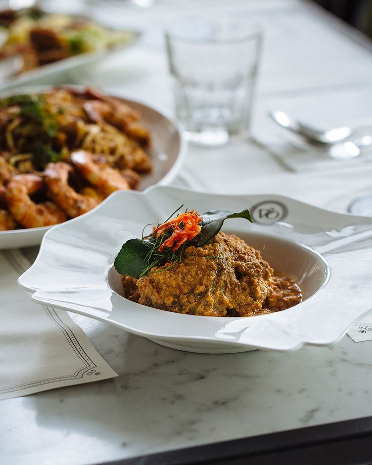 """""""Singapore's original fusion food, Nyonya cuisine, also known as Peranakan, features strong Malay and Indonesian influences with its use of spices and coconut milk. In this recipe, beef shin results in a beautifully tender meat, whilst the coconut milk and candlenuts make a moreish sauce."""" Adam Liaw, Destination Flavour Singapore"""