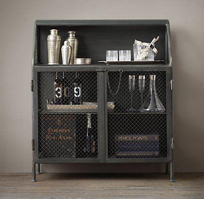 Bar Storage & Carts | RH