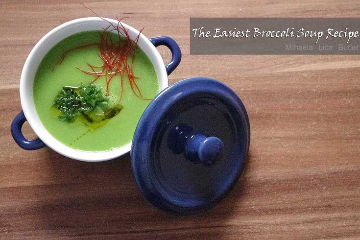 The Easiest Broccoli Soup Recipe You'll Ever Need - by Gordon Ramsay.