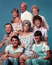 Mama's Family - (1983-84) & (1986-1990). Starring: Vicki Lawrence, Ken Berry, Dorothy Lyman, Rue McClanahan, Eric Brown, Karin Argoud, Betty White, Beverly Archer,  Allan Kayser, Harvey Korman and Alan Oppenheimer. Partial Guest List: Fred Willard, Imogene Coca, Conrad Janis, Jerry Reed, Alex Trebek, Richard Dawson, Vicki Lawrence, Johnny Gilbert, Robert Mandan, Yeardley Smith, Dick Christie, Gene Wood, Bill Kirchenbauer, Dr. Joyce Brothers and Jack Dodson.