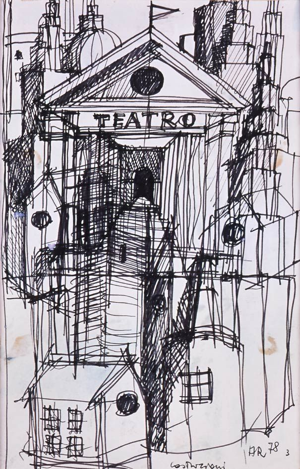 The temples of consumption: Aldo Rossi