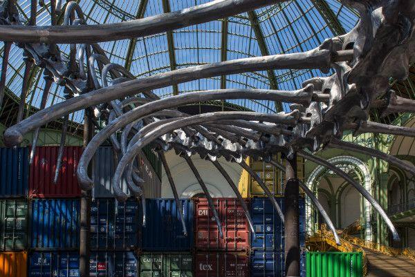 "Huang Yong Ping, ""Empires"" (detail). Installation view at MONUMENTA 2016. Photo: Didier Plowy/Rmn-GP ©Adagp, Paris 2016 courtesy of the artist and Kamel Mennour, Paris.  @Monumenta2016 #Monumenta2016#GrandPalais#Paris#HuangYongPing#Instalation#art#artfair"