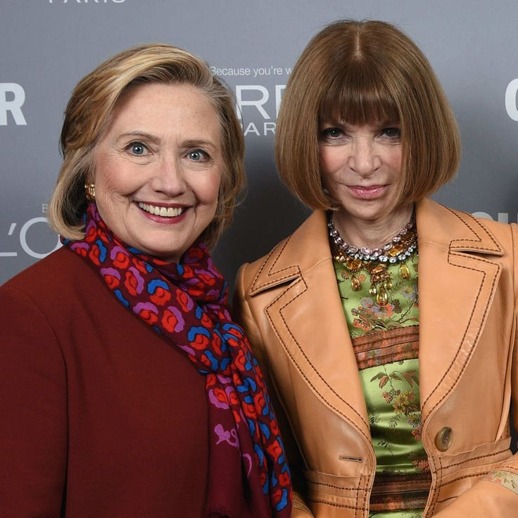 Hillary Clinton Is Winning the Fashion Schmoozing Race