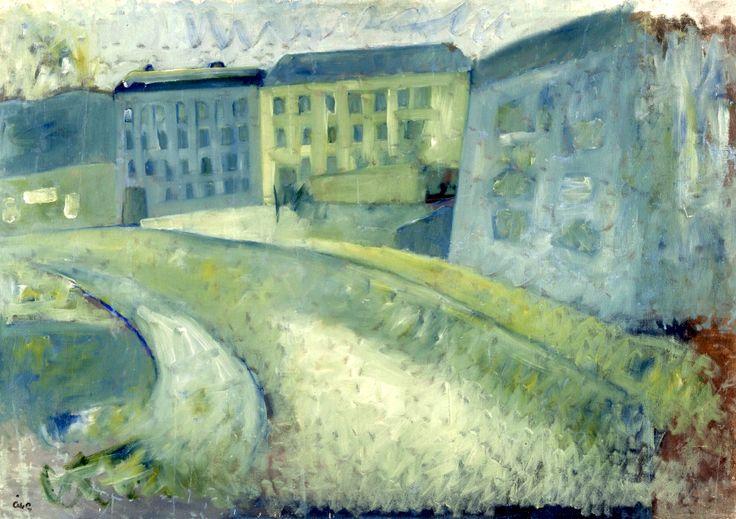 Åke Göransson (Swedish, 19021942) Street ca 1930/32