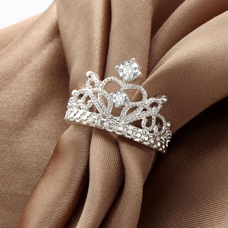 HOT Sale Princess Crown Rings Crown ring princess