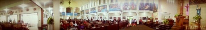 Release me or parasite me, but dont waste my time with talk  Gereja St. Antonius Kotabaru, Jogjakarta, 2013