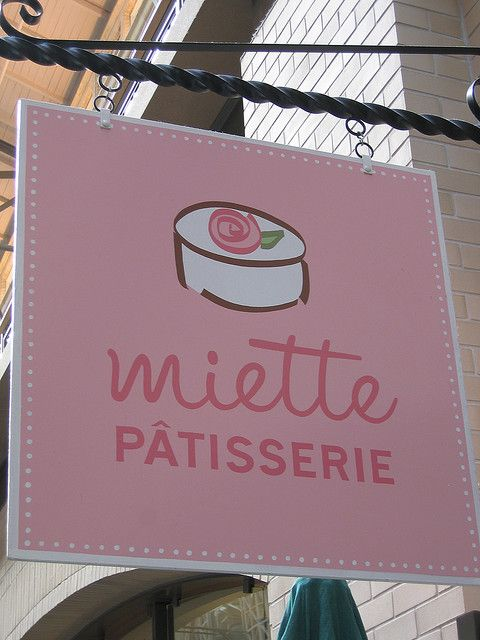 Miette, San Francisco. After looking at their recipe book, I am convinced their shop will be fantastic!