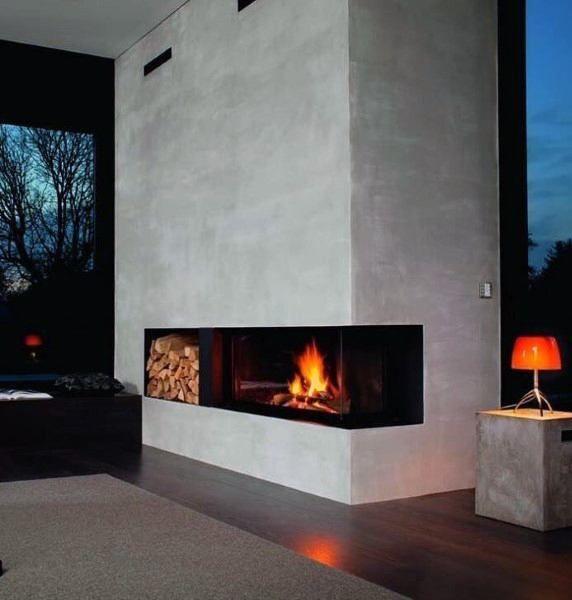 Electrical Home Design Ideas: Top 70 Best Modern Fireplace Design Ideas