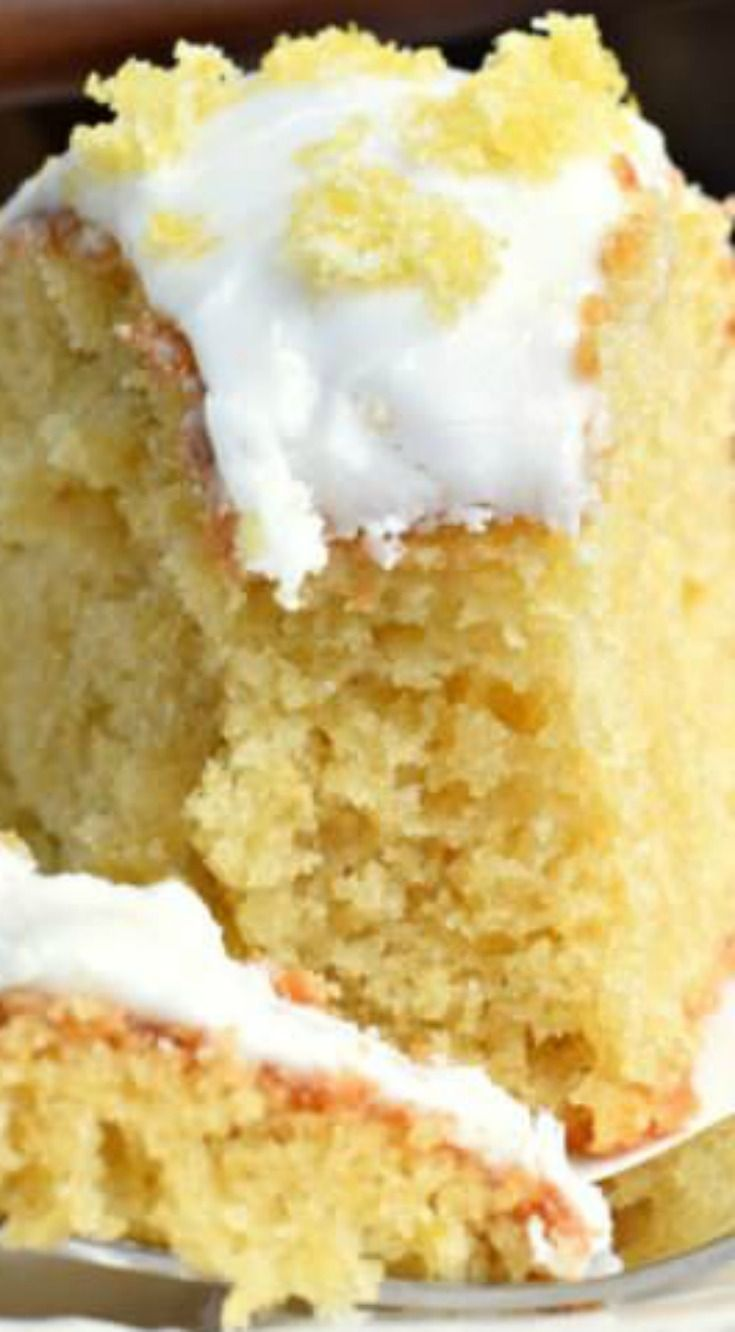 Lemon Zucchini Cake ~ Bright and full of flavor... Perfect for using up those garden zucchini in this recipe that's great for dessert, breakfast or tea time!