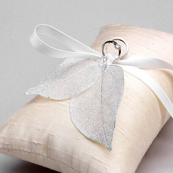 【IMPORT】リングピロー〈Real Leaf Ring pillow〉