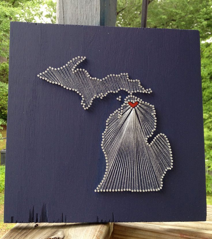 126 best string art 16 images on pinterest crafts string art heart in ohio prinsesfo Image collections