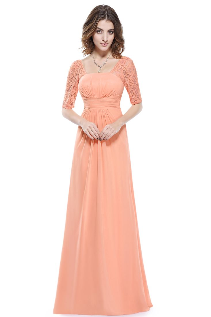 Coral Gathered Lace Detail Maxi Dress - Lace Detail Maxi Dresses Online.