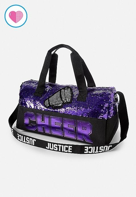 Cheer Flip Sequin Duffle Bag  60869623c2ae6