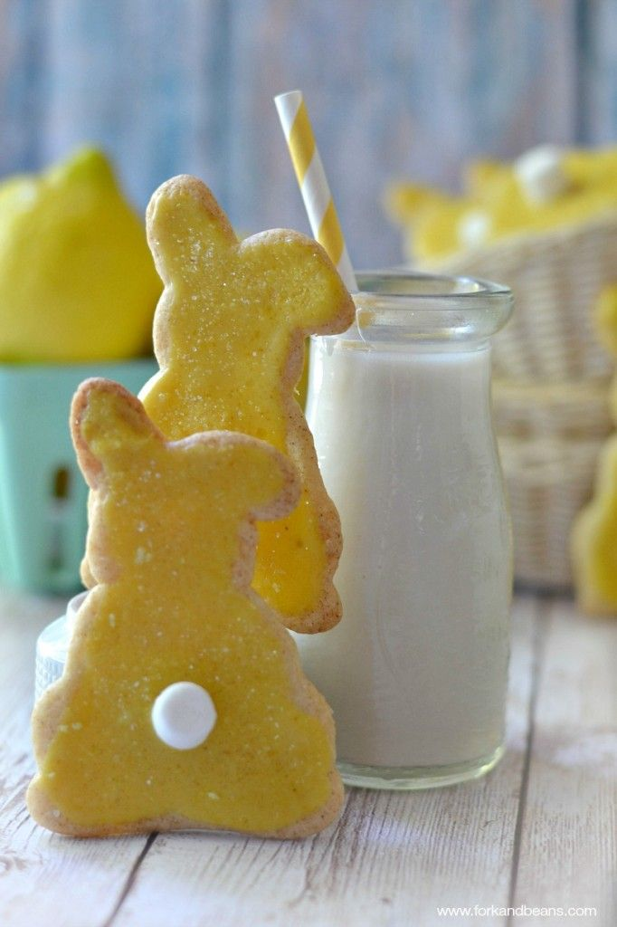 Lemon Sugar Cookies (Gluten-free Vegan) - With a hint of citrus and ...