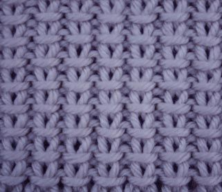 Cast On an odd number of stitches. Row 1: (wrong side) K1, *P1, K1* repeat * to * to end. Row 2: P1, *SL1 (purl wise), P1* repeat * to * to end. These 2 rows form the pattern.