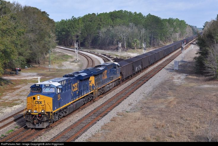 csx train in waycross, ga | ... CSX Transportation (CSXT) GE ES44AC at Folkston, Georgia by John