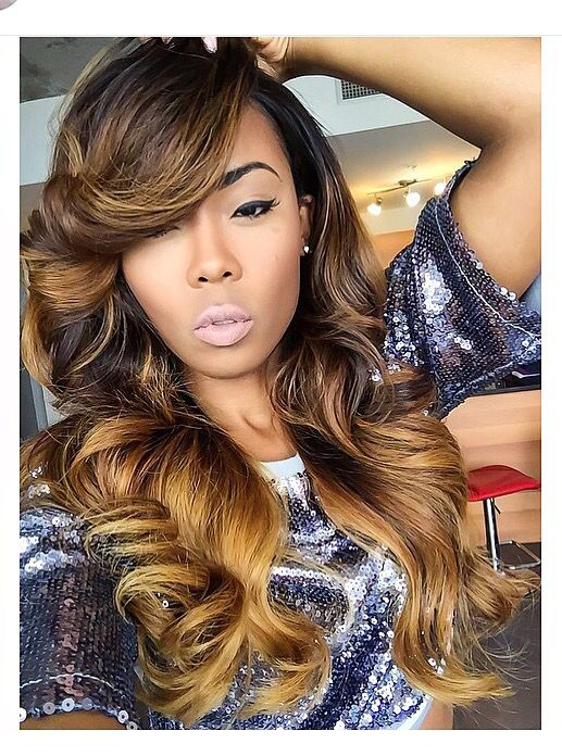 Pleasing 1000 Ideas About Weave Hairstyles On Pinterest Sew In Short Hairstyles For Black Women Fulllsitofus