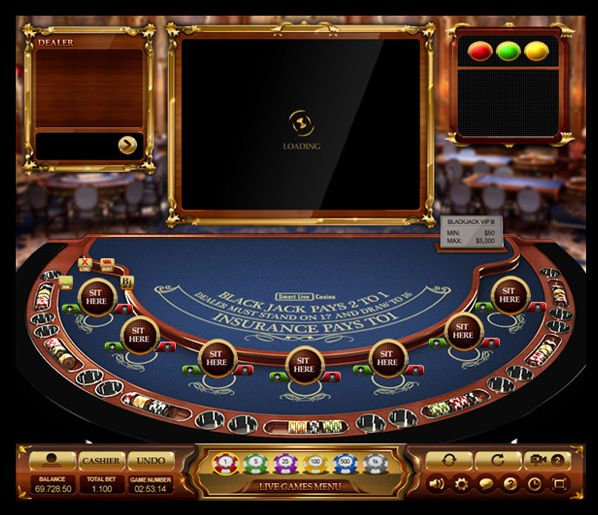 Casino Game Interface