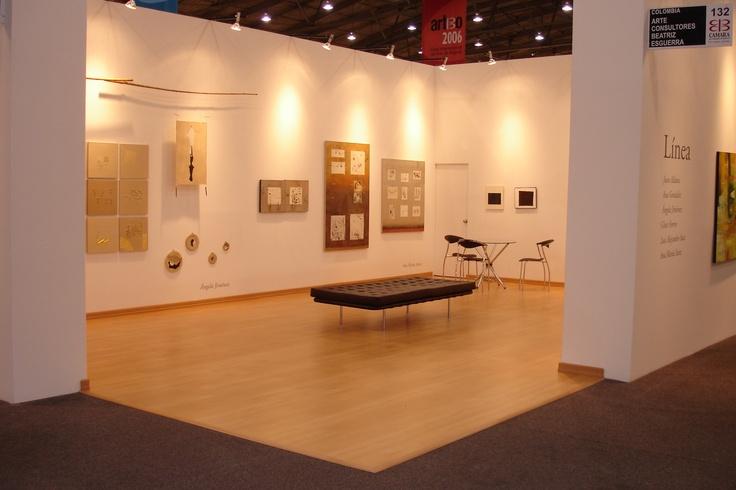 Angela Jimenez, Ana Maria Sanz and Alejandro Saiz in an abstraction proposal for ARTBO 2006
