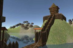Medieval Motte and Bailey Castle