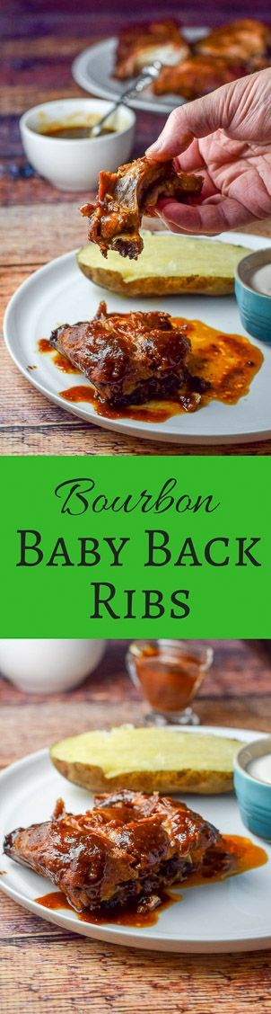 Slow cooker bourbon baby back ribs.  Cooking these ribs in a slow cooker makes the meat fall off the bone.  It's lip smacking good. http://ddel.co/scbbbribs