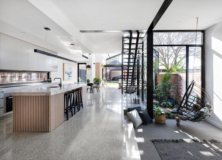 Kitchen   Open House: 71 Cunningham Street, Northcote   Jellis Craig   est living