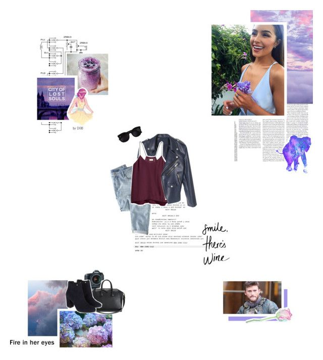 """All those games you tried to play, well they ain't gonna work on me now, I put a barbed wire fence around my heart, baby, just to keep you out"" by nifty-nikki ❤ liked on Polyvore featuring Lumi, Wrap, H&M, Franklin, Givenchy, Monsoon, Disney and Ray-Ban"