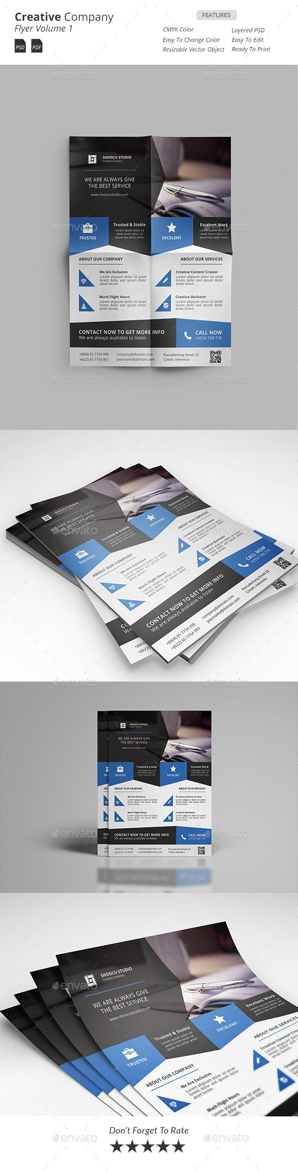 Compay Corporate Flyer - Corporate Flyers