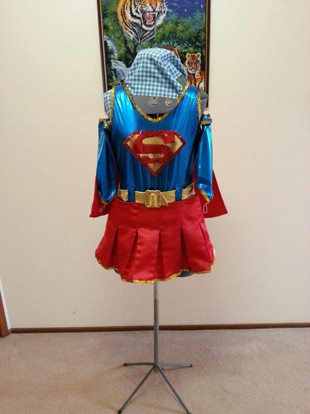 Super woman dance costume