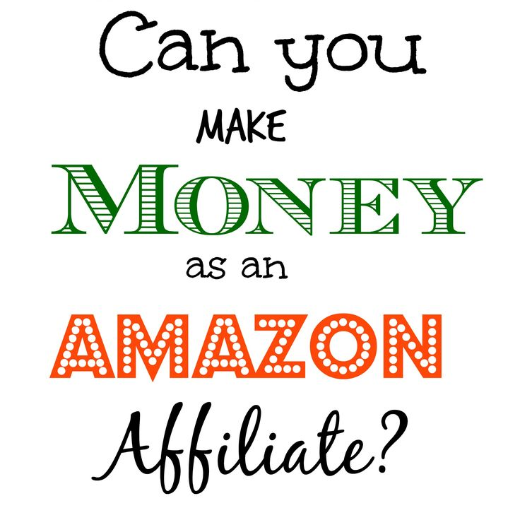 Can you make money with Amazon Affiliate Programs? Yes, you can! Even with the low commissions and low product prices - it is possible to make money with Amazon Affiliates #TheLesleyShow