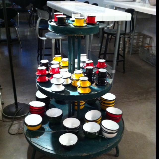 Tea cups at Merci in Paris