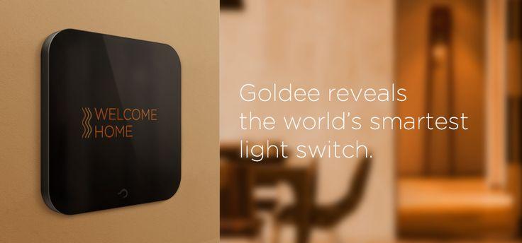 Goldee - world's smartest light switch.